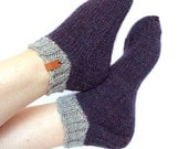 Slippers, Cozy Slippers, Hand Knit Slippers, Boho Knit Slippers, Hipster Slippers, Women Knitted Slippers, Knit Slippers, Socks, Etsy Gifts,