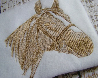 SALE 30% off Horse head embroidery design, horse embroidery, silhouette horse head, animal embroidery design, machine embroidery design