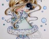 INSTANT DOWNLOAD Digital Digi Stamps Big Eye Big Head Dolls Digi  Img926 By Sherri Baldy