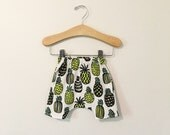 Pineapple Baby and Toddler Harem Shorts