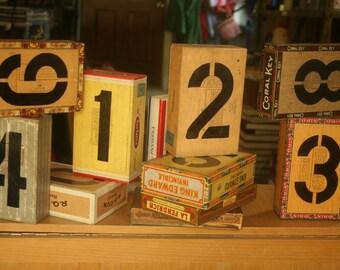 Box Table Numbers, Alternative Wedding, Cigar Bar, Cigar Box Table Number, Unique Table Numbers, Wedding Table, Indie Wedding