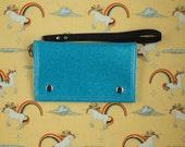 Roller Derby Unicorn Sparkle Wallet Wristlet