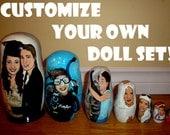 Custom Doll Set of 5-8