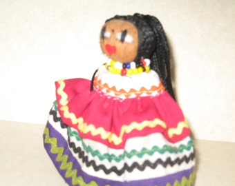 Seminole Palmetto vintage doll