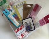 Pink Door Fabrics - English Paper Piecing Starter Kit - EPPKIT