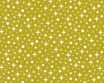 Paintbox Basics - Starlight in Pickle - Elizabeth Hartman for Robert Kaufman - AZH-15453-341 - 1/2 Yard