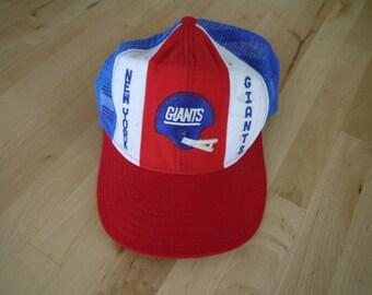 Vintage New York Giants NFL Football Hat
