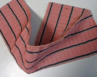 Vintage KIMONO OBI Fabric scrap