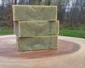 Herbal Acne Facial Soap with grass-fed tallow for hormonal skin