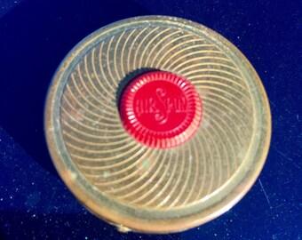 Vintage Air-Spun Rouge Compact