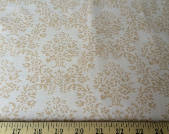 "Annette Tatum for Free Spirit Wallpaper House Collection  100% cotton quilting fabric 44"" wide 1 1/2 yards"