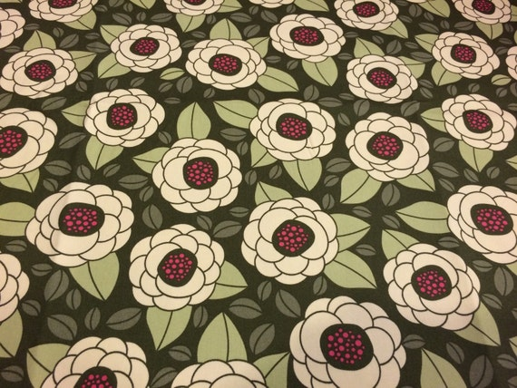 Joel dewberry bloom thyme hdjd02 100 cotton sateen home for Decor 55 fabric