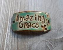 Amazing Grace Bracelet Cuff Connector