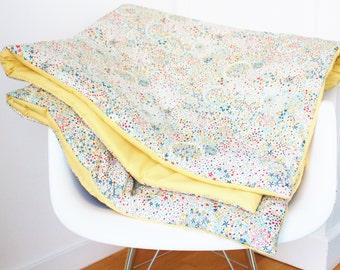 Blanket Liberty Adelajda Multicolor and Yellow - ON ORDER