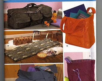 Totes and Organizers / Original Simplicity Home Decorating / Simply Teen Uncut Sewing Pattern 4535