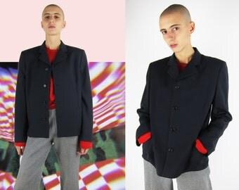 Comme des Garçons Minimalist Wool Jacket