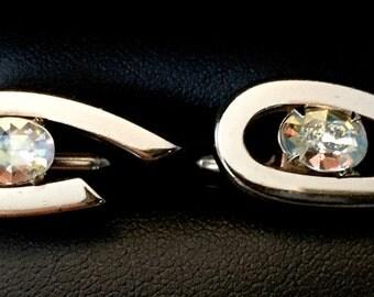 Original Vintage SWANK Montrey Modern Cufflinks