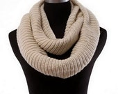 knit scarf, Knit infinity scarf, chunky cowl scarf, gift for her, women scarf, unisex, winter accessories, chunky scarves