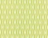 Flow by Brigitte Heitland for Zen Chic and Moda - Waves - Light Green - Apple - FQ Fat Quarter Yard Cotton Quilt Fabric 516