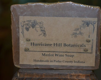 Merlot Wine Soap-All Natural-Handcrafted