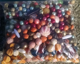 Destash of Assorted Beads