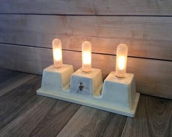Triple Concrete Lamp Sale