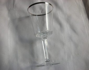 "10 Never Used Lenox Solitaire 7"" Stems / Wine Glass"