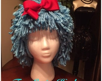 Dr Seuss Thing 1 Inspired Wig/Hat