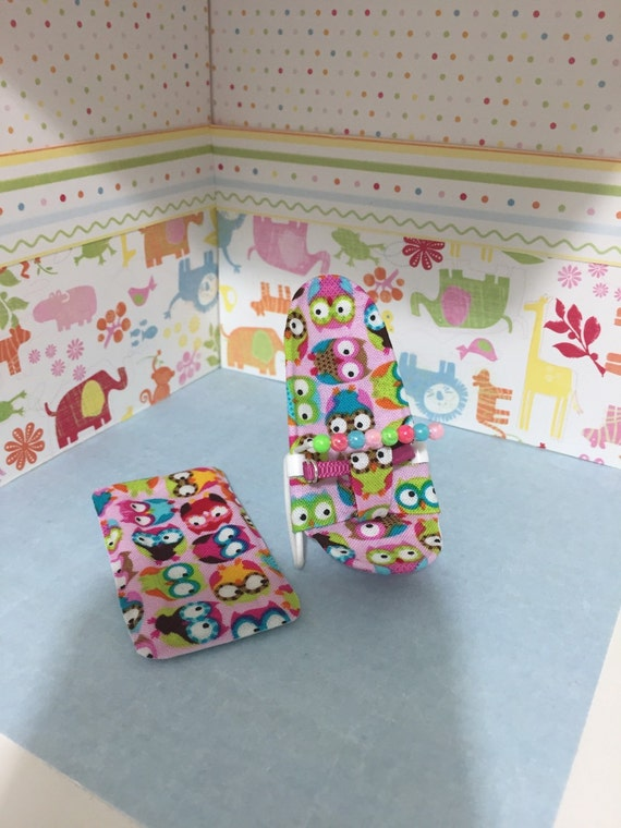 1 12th Scale Cute Rocking Bouncy Chair With By Thimblemins