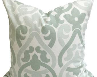 Light GREEN Pillows. Green Decorative Pillow Cover.Floral Home Decor.Housewares, Light Green Pillow, Artichoke Green Pillow Cover.Cushion