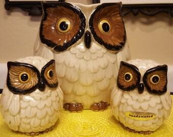 Kitschy OMC Japan Owl set