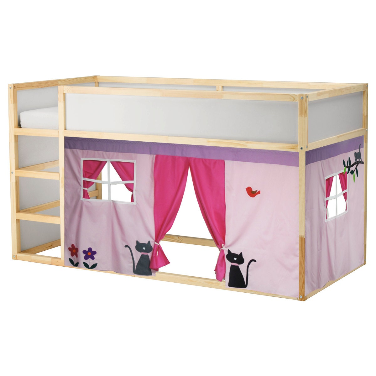 Loft bed curtain 28 images curtain under loft bed Twin bed tent ikea