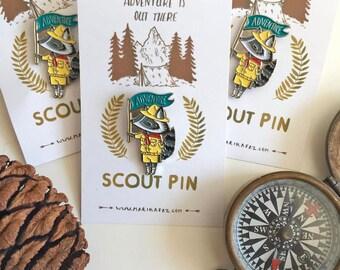Adventure Lapel Pin