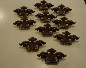 10 Vintage Cabinet Drawer Pulls-Home Decor-Display-Hardware-
