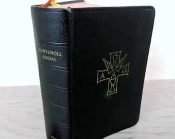 Reserved for Alice - Vintage Maryknoll Missal - Daily Missal Of The Mystical Body - 1957 - Daily Prayer Book