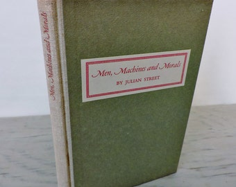 Vintage History Book - Men, Machines, and Morals - First Edition - 1942 - Osborn Manufacturing - Cleveland History