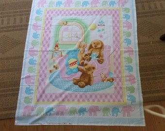 10  Baby  Quilt Panel