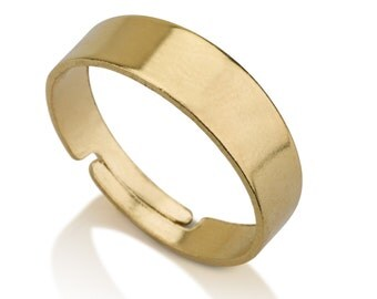 Adjustable Band Ring