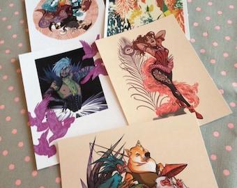Art Postcard Prints