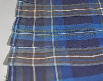 Baby Kilt in Holyrood tartan, Various sizes, Poly viscose, machine washable, 6-12m, 12-18m, 18-24m