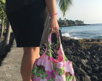 Hawaiian Roses Purse