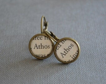 The Musketeers Athos Earrings Three Musketeers