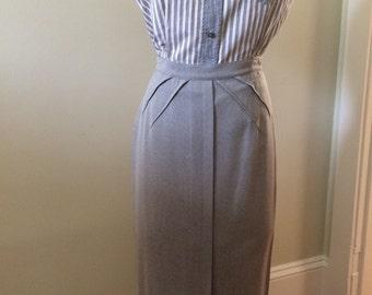 1950's Womens Cotton Sleeveless Blouse