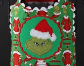 CHRISTMAS:  Mr. Mean Green Dog Harness