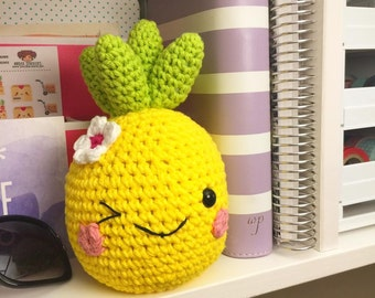 Crocheted Pineapple - Ready to Ship