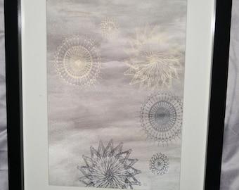 Framed Spiral A4 Print