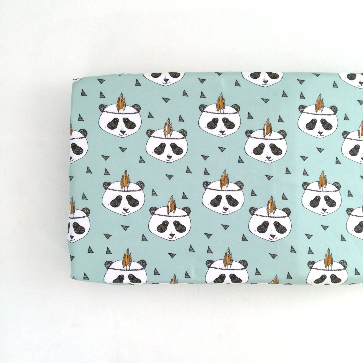 Changing Pad Cover Mint Pandas Change Pad Changing By