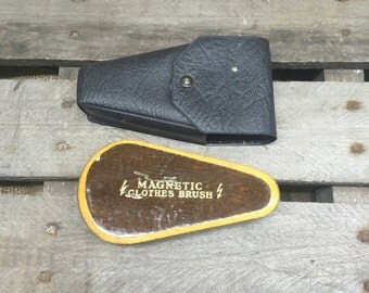 Vintage Magnetic Clothes Brush