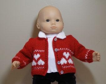 bitty baby valentine sweater