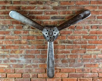 Alexander's Propeller - Replica Propeller - Quality - Hand-Forged - Restaurant Decor - Mancave - Unique Gift - Airplane Propeller - Office